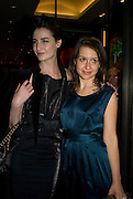 ERIN O'CONNOR AND HADLEY FREEMAN, Mulberry hosts the book launch of ' The Meaning of Sunglasses by Hadley Freeman. Mulberry shop. 41-42 New Bond St. London. 14  February 2008.  *** Local Caption *** -DO NOT ARCHIVE-© Copyright Photograph by Dafydd Jones. 248 Clapham Rd. London SW9 0PZ. Tel 0207 820 0771. www.dafjones.com.