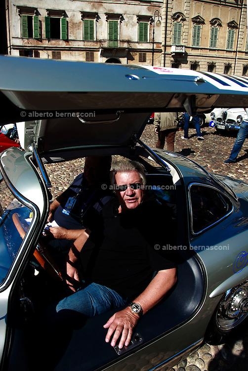 GP TAZIO NUVOLARI 2012. Mantova, Mercedes  300 SL coupè  1955