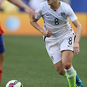 Amy Rodriguez, U.S. Women's National Team, in action during the U.S. Women's National Team Vs Korean Republic, International Soccer Friendly in preparation for the FIFA Women's World Cup Canada 2015. Red Bull Arena, Harrison, New Jersey. USA. 30th May 2015. Photo Tim Clayton