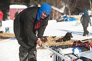 Photographs of John Baker's 2011 Iditarod run. Anvik checkpoint. Stephen Nowers/Alaska Dispatch