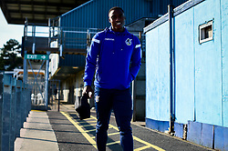 Victor Adeboyejo of Bristol Rovers arrives at Memorial Stadium prior to kick off - Mandatory by-line: Ryan Hiscott/JMP - 13/08/2019 - FOOTBALL - Memorial Stadium - Bristol, England - Bristol Rovers v Cheltenham Town - Carabao Cup