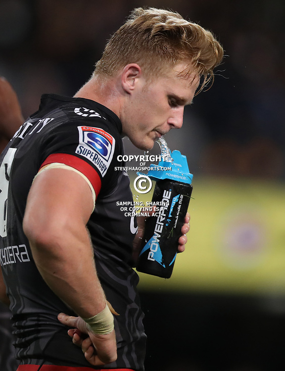DURBAN, SOUTH AFRICA - MAY 27: Daniel du Preez of the Cell C Sharks during the Super Rugby match between Cell C Sharks and DHL Stormers at Growthpoint Kings Park on May 27, 2017 in Durban, South Africa. (Photo by Steve Haag/Gallo Images)