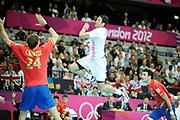 DESCRIZIONE : Handball Jeux Olympiques Londres <br /> GIOCATORE : Lackovic Blazenko<br /> SQUADRA : Croatie HOMME<br /> EVENTO :  Handball Jeux Olympiques<br /> GARA : Croatie Espagne<br /> DATA : 06 08 2012<br /> CATEGORIA : handball Jeux Olympiques<br /> SPORT : HANDBALL<br /> AUTORE : JF Molliere <br /> Galleria : France JEUX OLYMPIQUES 2012 Action<br /> Fotonotizia : France Handball Homme Jeux Olympiques Londres premier tour Copper Box<br /> Predefinita :
