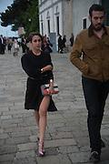 DAUPHINE FENDI, Marc Quinn opening. Venice. Venice Bienalle. 28 May 2013