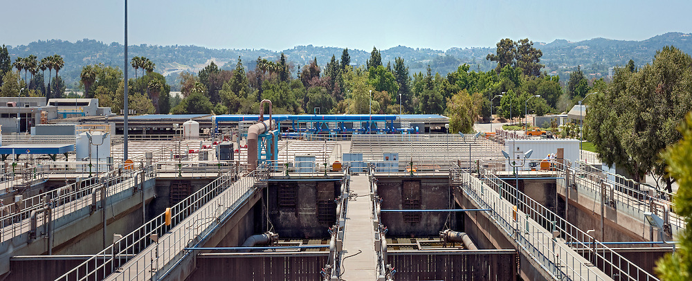 Tillman Water Reclamation Plant,  Overlook, Van Nuys, CA, Woodley Park, Lake Balboa,
