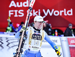 16.12.2016, Saslong, St. Christina, ITA, FIS Ski Weltcup, Groeden, Super G, Herren, Flower Zeremonie im Bild Aleksander Aamodt Kilde (NOR, 2. Platz) // second placed Aleksander Aamodt Kilde of Norway during the Flowers ceremony for the men's SuperG of FIS Ski Alpine World Cup at the Saslong race course in St. Christina, Italy on 2016/12/16. EXPA Pictures © 2016, PhotoCredit: EXPA/ Erich Spiess