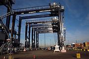 Container cranes, Port of Felixstowe, Suffolk, England
