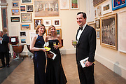 FRANCES OSBORNE; FARRON TOZER BROWN; GEORGE OSBORNE, Royal Academy Annual Dinner 2013. Piccadilly. London. 4 June 2013.