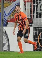 Fotball<br /> Tyskland<br /> 25.02.2015<br /> Foto: Witters/Digitalsport<br /> NORWAY ONLY<br /> <br /> 0:2 Jubel Torschuetze Facundo Ferreyra (Donezk)<br /> <br /> Gelsenkirchen, 25.02.2016, Fussball Europa League, Zwischenrunde Rueckspiel, FC Schalke 04 - Schachtar Donezk<br /> Shaktar Donetsk