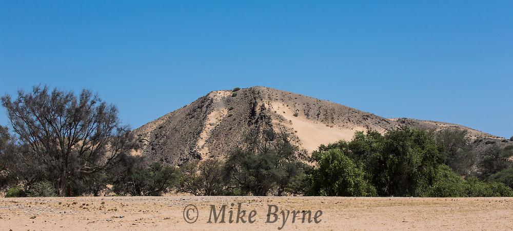 Landscapes in Damaraland, Namibia.