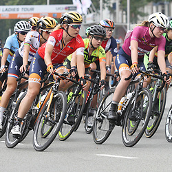 30-08-2017: Wielrennen: Boels Ladies Tour: Arnhem: Amy Pieters: Anna van der Breggen