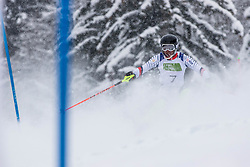 Civade Thomas of France during Slalom race at 2019 World Para Alpine Skiing Championship, on January 23, 2019 in Kranjska Gora, Slovenia. Photo by Matic Ritonja / Sportida