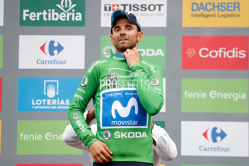 Alejandro Valverde (ESP - Movistar) during the 73th Edition of the 2018 Tour of Spain, Vuelta Espana 2018, 20th stage Andorra Escaldes Engordany - Coll de la Gallina 97.3 km on September 15, 2018 in Spain - Photo Luca Bettini / BettiniPhoto / ProSportsImages / DPPI