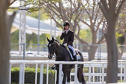 SOERENSEN Jacob Noerby (SWE), Moegelbjergs Romeo<br /> Doha - CHI Al SHAQAB 2020<br /> Impression am Rande<br /> Abreiten<br /> FEI Grand Prix Freestyle<br /> 29. Februar 2020<br /> © www.sportfotos-lafrentz.de/Stefan Lafrentz