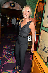 LADY MELISSA PERCY at a party for the UK launch of Mr Boho held at Annabel's, 44 Berkeley Square, London on 19th May 2016.