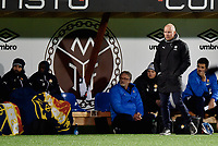 Fotball , 4. oktober 2019 , Eliteserien , Mjøndalen - Strømsgodset 1-1<br /> <br /> trener Henrik Pedersen , SIF