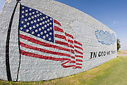 Painting on the side of a building in Weskan Kansas
