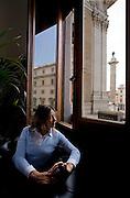 Roma,On. Giorgia Meloni, ex ministro delle politiche giovanili nel governo Berlusconi.