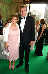 MR & MRS JEREMY CLARKSON at the NSPCC's Dream Auction held at The Royal Albert Hall, London on 9th May 2006.<br />
