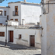 A street in the town of Alpujarras de la Sierra, Spain.