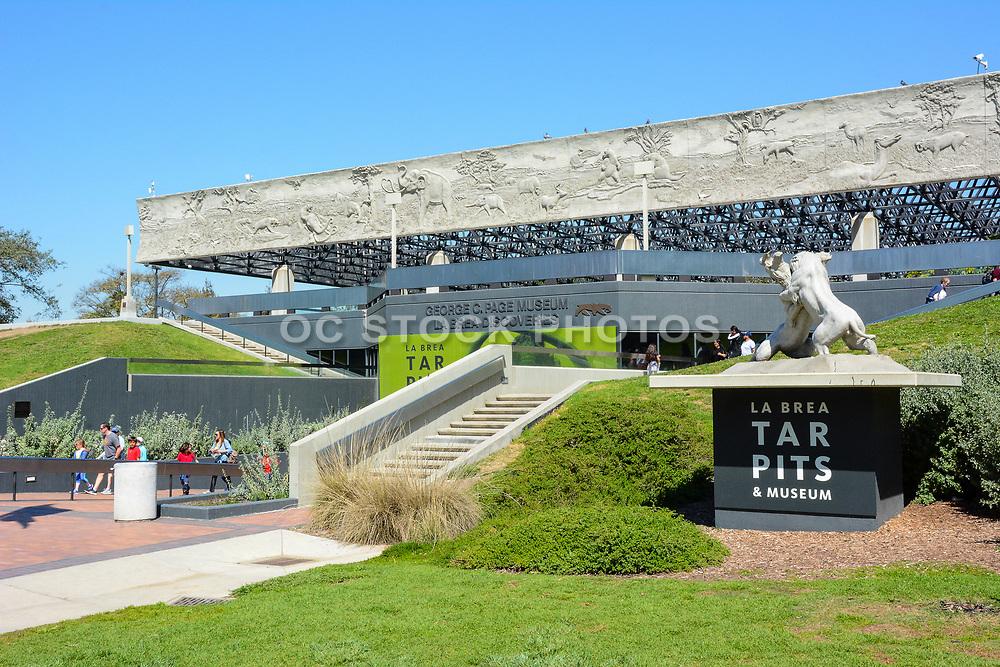 George C. Page Museum La Brea Tar Pits Entrance