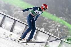 February 8, 2019 - Lahti, Finland - Constantin Schmid participates in FIS Ski Jumping World Cup Large Hill Individual training at Lahti Ski Games in Lahti, Finland on 8 February 2019. (Credit Image: © Antti Yrjonen/NurPhoto via ZUMA Press)