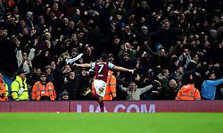Robert Snodgrass of Aston Villa celebrates    - Mandatory by-line: Joe Meredith/JMP - 01/01/2018 - FOOTBALL - Villa Park - Birmingham, England - Aston Villa v Bristol City - Sky Bet Championship