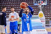 Rok Stipcevic<br /> Banco di Sardegna Dinamo Sassari - Germani Basket Leonessa Brescia<br /> Legabasket Serie A LBA PosteMobile 2017/2018<br /> Sassari, 08/04/2018<br /> Foto L.Canu / Ciamillo-Castoria
