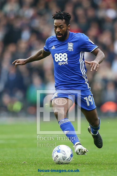 Jacques Maghoma of Birmingham City during the Sky Bet Championship match at St Andrews, Birmingham<br /> Picture by Andy Kearns/Focus Images Ltd 0781 864 4264<br /> 30/10/2016