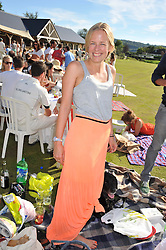 ASTRID HARBORD at a cricket match to in aid of CARE - Corfu Animal Rescue Establishment held at Hawkley Cricket Club, Hawkley, Hampshire on 8th September 2012.
