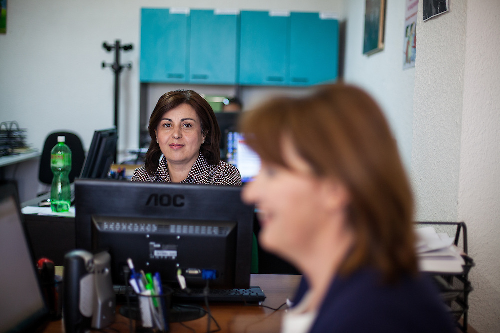 The NGO Kham office in the city of Delcevo located in Macedonia.
