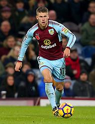 Johann Gudmundsson of Burnley - Mandatory by-line: Robbie Stephenson/JMP - 30/10/2017 - FOOTBALL - Turf Moor - Burnley, England - Burnley v Newcastle United - Premier League