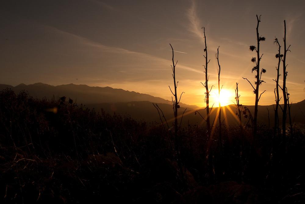 Sunset, Crete