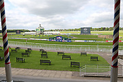 The Knavesmire, York Racecourse prior to the second day at the York Dante Meeting at York Racecourse, York, United Kingdom on 17 May 2018. Picture by Mick Atkins.
