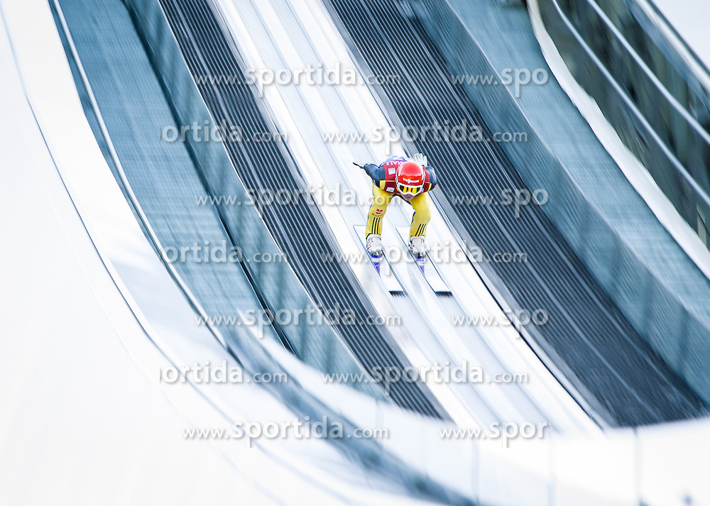 31.12.2012, Olympiaschanze, Garmisch Partenkirchen, GER, FIS Ski Sprung Weltcup, 61. Vierschanzentournee, Training, im Bild Andreas Wellinger (GER) // Andreas Wellinger of Germany // during practice Jump of 61th Four Hills Tournament of FIS Ski Jumping World Cup at the Olympiaschanze, Garmisch Partenkirchen, Germany on 2012/12/31. EXPA Pictures © 2012, PhotoCredit: EXPA/ Juergen Feichter