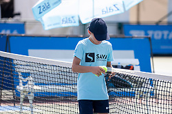 Ballboy at ATP Challenger Zavarovalnica Sava Slovenia Open 2018, on August 4, 2018 in Sports centre, Portoroz/Portorose, Slovenia. Photo by Urban Urbanc / Sportida