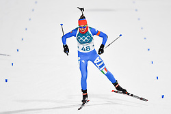 February 10, 2018 - Pyeongchang, South Korea - 180210 Lisa Vittozzi of Italy competes in Women's Biathlon 7,5 km Sprint during day one of the 2018 Winter Olympics on February 10, 2018 in Pyeongchang..Photo: Petter Arvidson / BILDBYRN / kod PA / 87614 (Credit Image: © Petter Arvidson/Bildbyran via ZUMA Press)