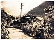 Japanese mountain village ca 1930s