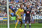 Ben Amos in action  during the Sky Bet Championship match between Bolton Wanderers and Derby County at the Macron Stadium, Bolton, England on 8 August 2015. Photo by Mark Pollitt.