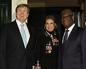 Koning bij symposium dr. Denis Mukwege Foundation