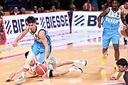 Ruzzier Michele<br /> Carpegna Prosciutto Basket Pesaro - Vanoli Cremona<br /> Lega Basket Serie A 2019/2020<br /> Pesaro, 01/12/2019<br /> Foto A.Giberti / Ciamillo - Castoria