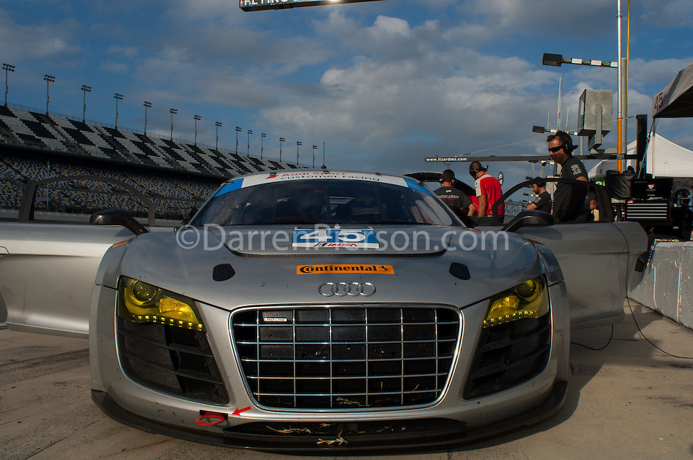 #45 Flying Lizard Motorsports Audi R8: TBA