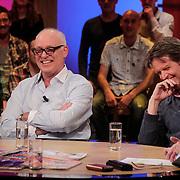 NLD/Hilversum/20120326 - Uitzending van RTL sportprogramma Voetbal international, Rene van der Gijp