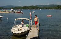 South Shore on Newfound Lake  Bristol, NH.   ©2015 Karen Bobotas Photographer