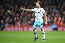 Mark Noble of West Ham United - Mandatory by-line: Alex James/JMP - 11/03/2017 - FOOTBALL - Vitality Stadium - Bournemouth, England - Bournemouth v West Ham United - Premier League