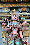 Hindu temple Bangkok idol
