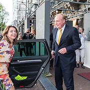 NLD/Amsterdam/20190916 - Prinses Irene viert verjaardag bij een ode aan de natuur , Carlos de Bourbon de Parme en partner Annemarie Gualtherie van Weezel