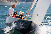 Belle racing at the Museum of Yachting Classic Yacht Regatta