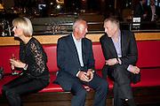 ANNA SOSNOWSKA; TONY BUCKINGHAM; GARY BOOM;, Fine Wine and Dine in aid of  Sick Children's Trust. Cafe Anglais. London. 1 March 2012