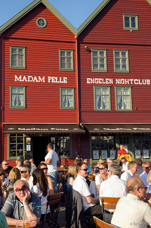 Bryggen (UNESCO World Heritage site since 1979), Bergen, Hordaland, Fjords, Norway, Europe